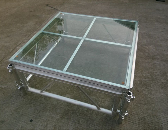18mm Thinckess Aluminum Acrylic Portable Stage Platforms with Truss System and Tent