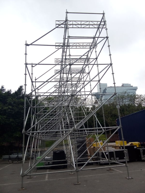 Outdoor Events Line Array Speaker Truss ,Layer Truss Assembly Easy To Use