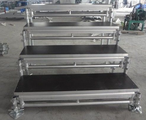 Waterproof Movable Stage Platform For Adjustable Chorus Stage / Folding Stage
