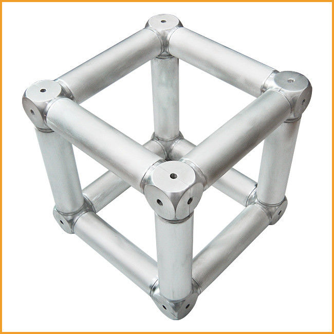 Spigot Aluminum Alloy Stage Truss Coupler With Six Corner Coupler