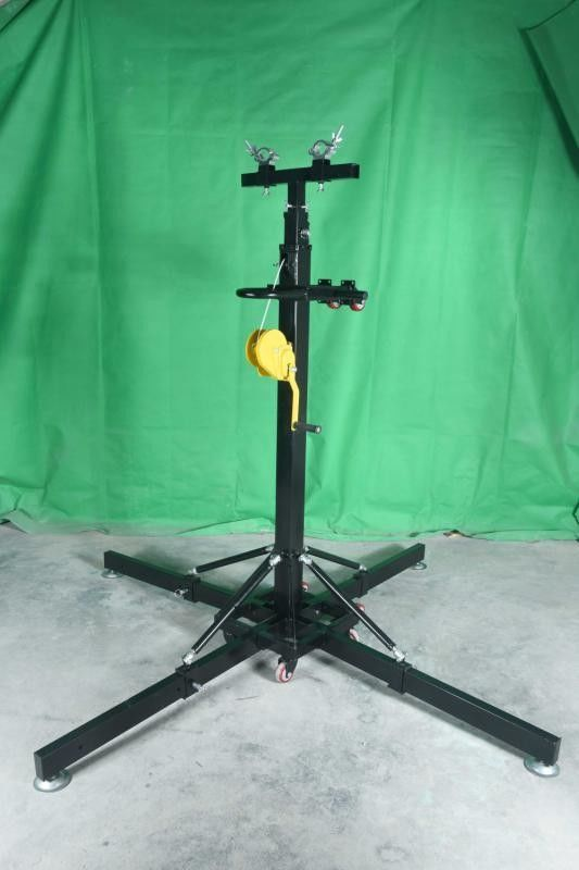 Outdoor Heavy Duty Lifting Tower / Truss Lighting Stands / Crank Stand For Party
