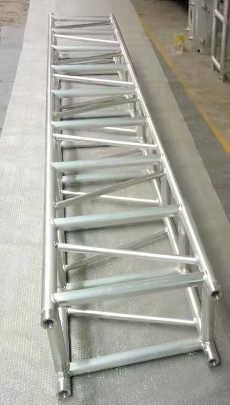 Spigot 6082-T6 Aluminum Stage Truss For Concert Exhibition 520*760mm