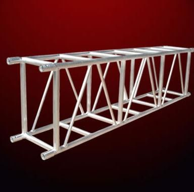 Silver Aluminum Stage Truss Alu Lighting Truss For Trade Show