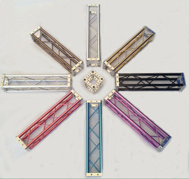 150 x 150MM Colorful Aluminum Mini Bolt Truss For Exhibition Booth