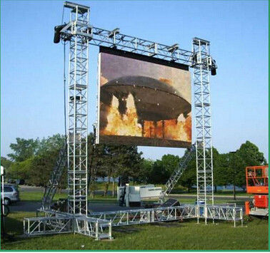 Customized Aluminum Truss Lighting Truss Stands For Truss LED Screen