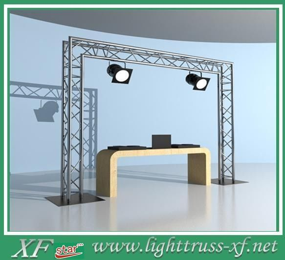 Professional Aluminum Stage Truss for Exhibition Booth Events , T6-6082 aluminum